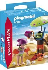 Playmobil Niños en la Playa 9085