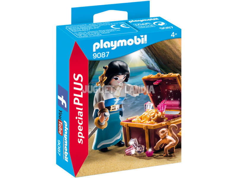 Playmobil Pirata con Tesoro 9087