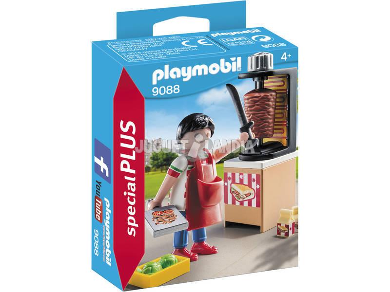 Playmobil vendedor Kebab 9088