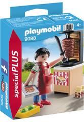 imagen Playmobil Vendedor De Kebab 9088