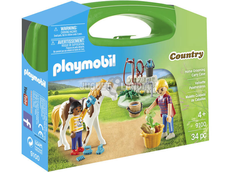 Pasta Playmobil Big Horse Care 9100