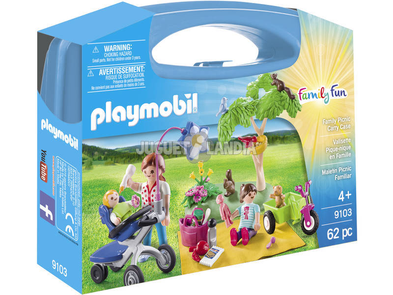 Pasta para piquenique Playmobil Big Family 9103