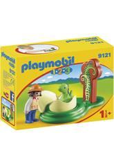 Playmobil 1,2,3 Ei von Dinosaurier 9121