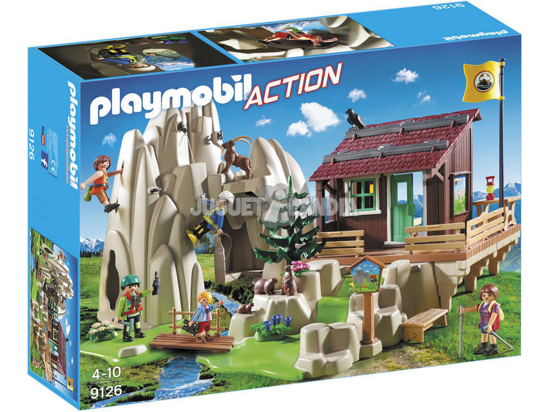Playmobil Escaladores Con Refugio 9126