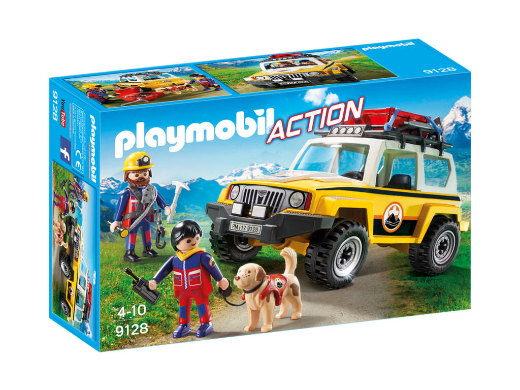 Playmobil Action Jeep soccorso alpino 9128