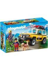 imagen Playmobil Vehículo De Rescate De Montaña 9128