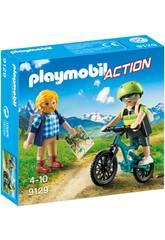 imagen Playmobil Ciclista y Excursionista 9129