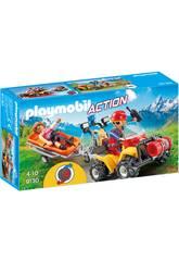 imagen Playmobil Quad De Rescate De Montaña 9130