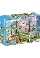 imagen Playmobil Bosque Mágico De Las Hadas 9132