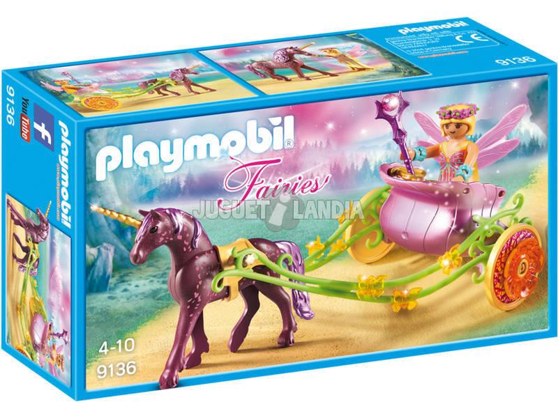 Playmobil Fada Flor Com Carruagem 9136
