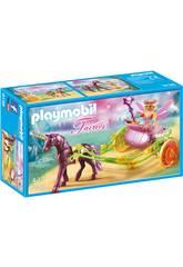 imagen Playmobil Hada Flor Con Carro 9136