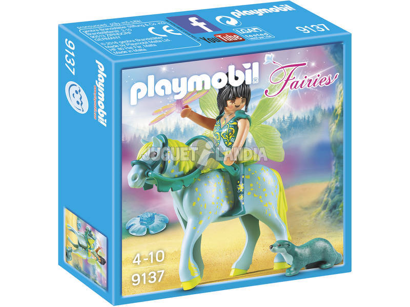 Playmobil Fiaries Fata dell'acqua con cavallo 9137
