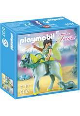 imagen Playmobil Hada Con Caballo 9137