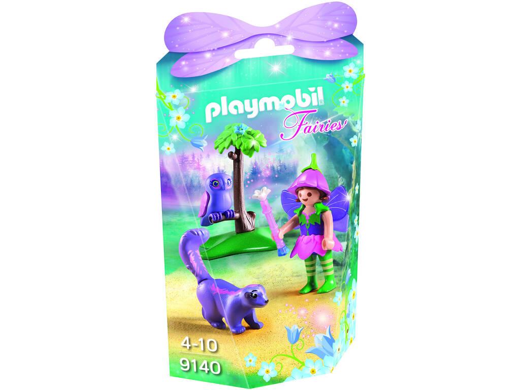 Playmobil Menina Fada Com Coruja 9140