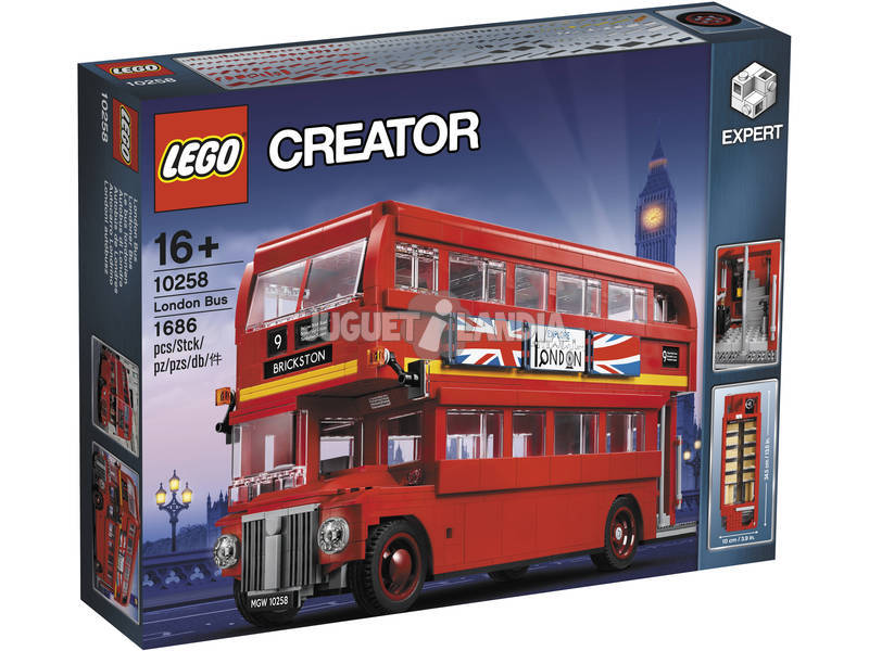 Lego Exclusive London Bus 10258