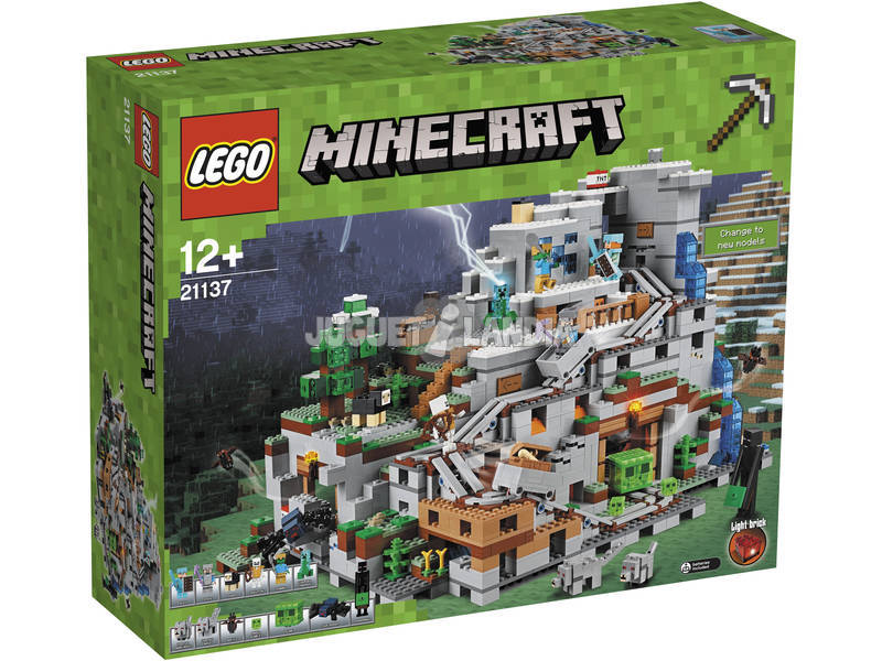 Lego Exclusivas Minecraft Caverna na montanha 21137