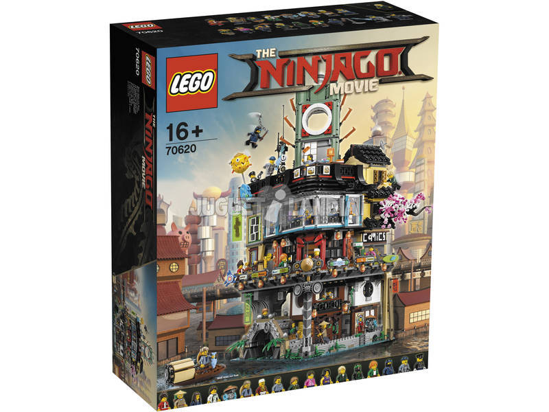 Lego Ninjago the movie Ninjago City 70620