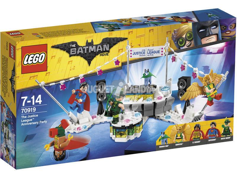 Festa de aniversário exclusiva da Lego da Liga da Justiça 70919