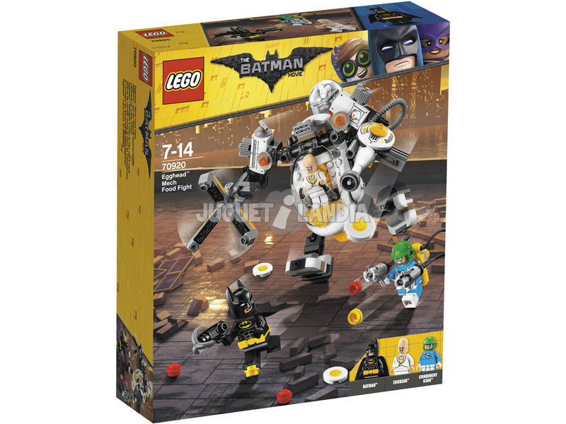 Lego Exclusive Food Warfare contra o Robe Cabezahevo 70920