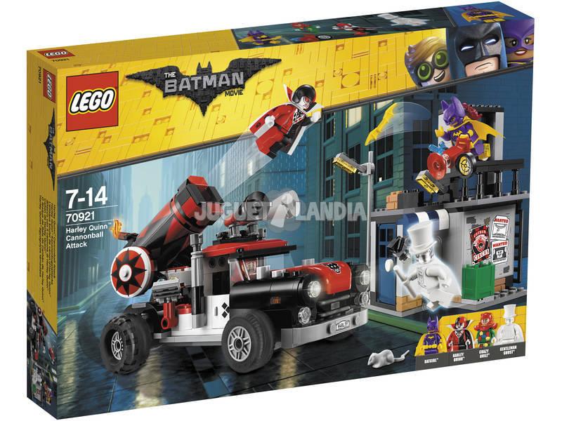 Lego Batman Movie Attacco con il cannone di Harley Quinn 70921