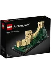 imagen Lego Aquitectura Gran Muralla China 21041
