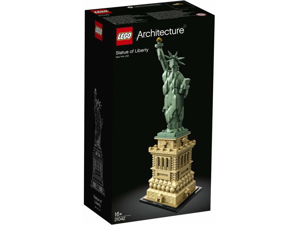Lego Aquitectura Estatua de la Libertad 21042