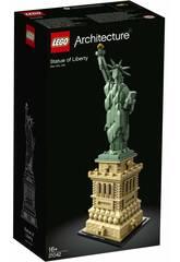 imagen Lego Aquitectura Estatua de la Libertad 21042