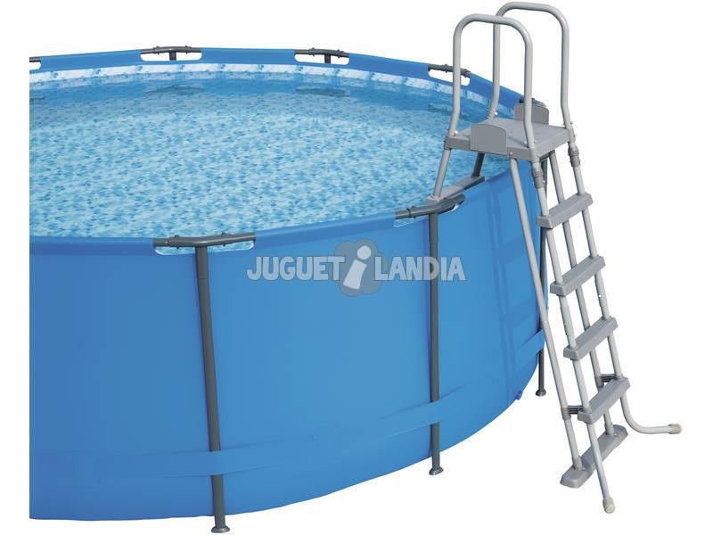 Piscina desmontable 671x132 cm bestway 56705 juguetilandia for Juguetilandia piscinas desmontables