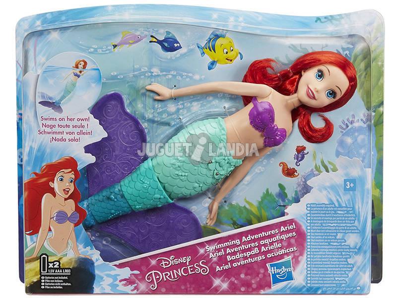 Aventuras de Ariel Aquático Hasbro E0051