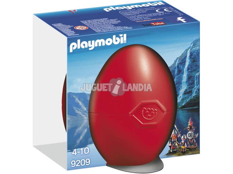 Playmobil Vikingos Con Escudo 9209