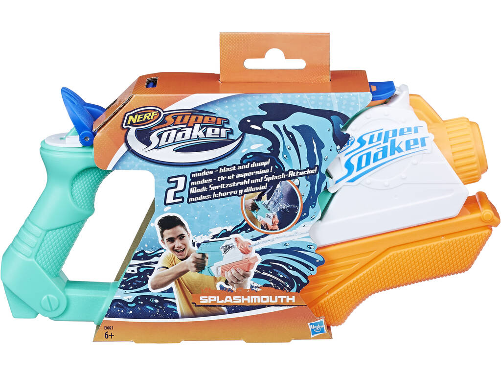 Nerf Super Soaker Splashmouth Hasbro E0021