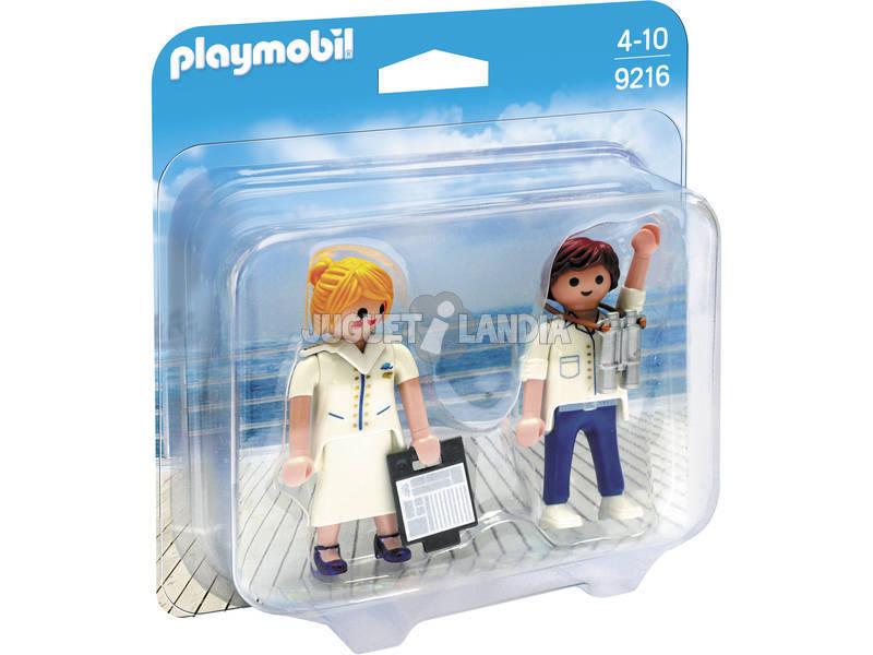 Pacote Playmobil Duo Cruise 9216
