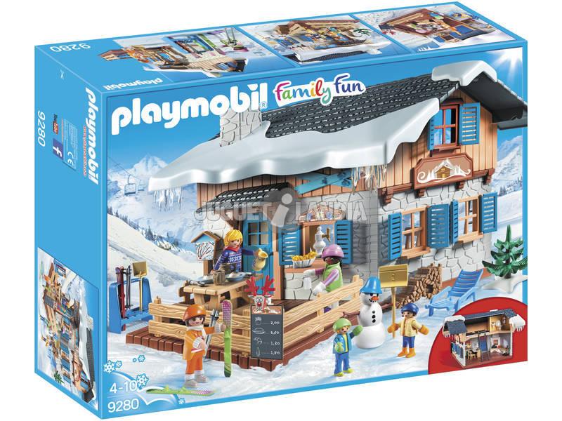 Playmobil FamilyFun Rifugio degli Sciatori 9280