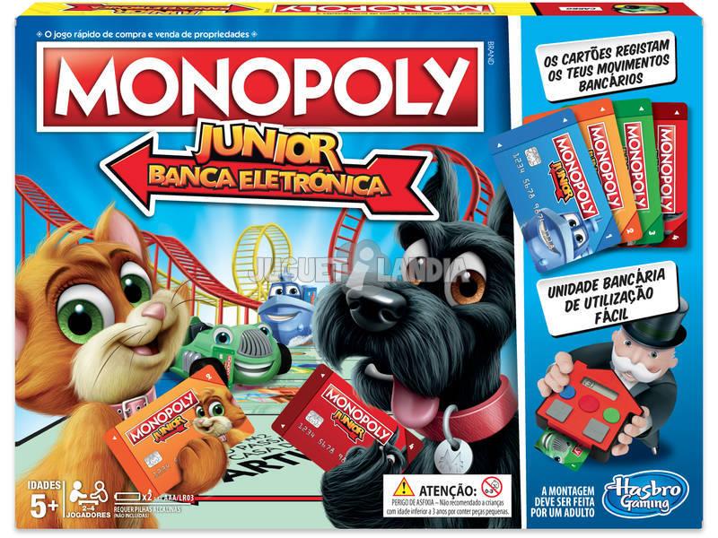 Monopoly Junior Electrónico HASBRO E1842
