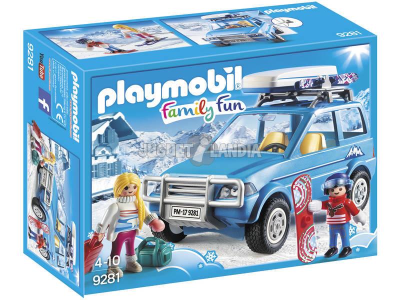 Playmobil FamilyFun SUV con portapacchi 9281