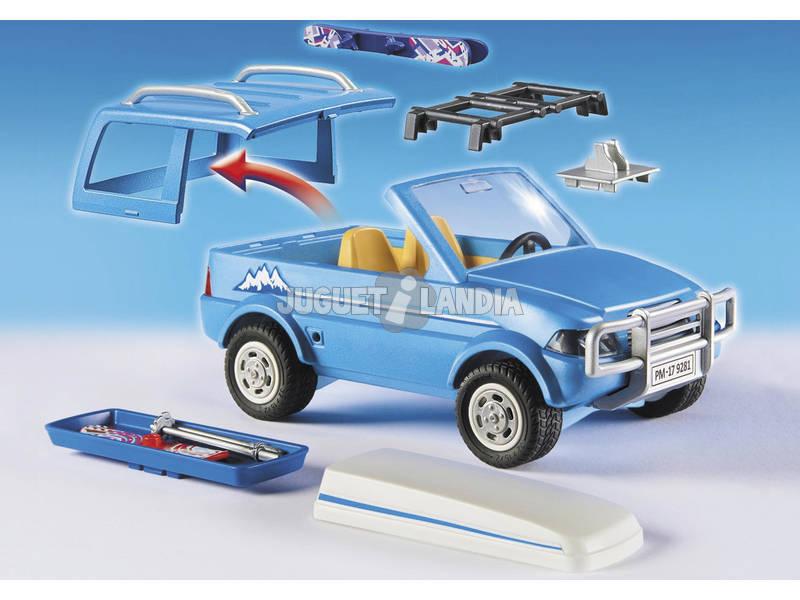 acheter playmobil 4x4 avec coffre de toit 9281 juguetilandia. Black Bedroom Furniture Sets. Home Design Ideas