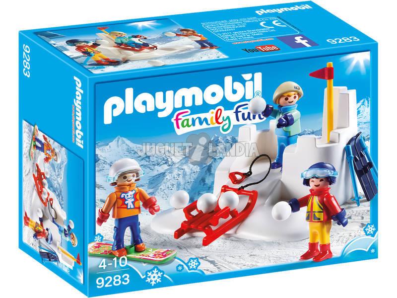 Playmobil Lucha De Bolas De Nieve 9283