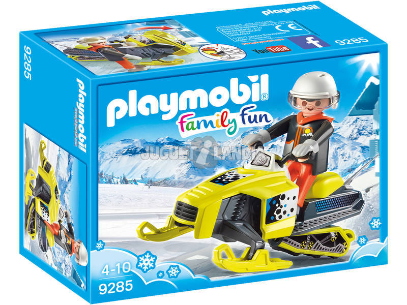 Playmobil FamilyFun Motoslitta 9285