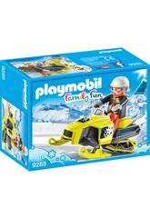 imagen Playmobil Moto De Nieve 9285