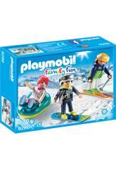 imagen Playmobil Deportes De Invierno 9286