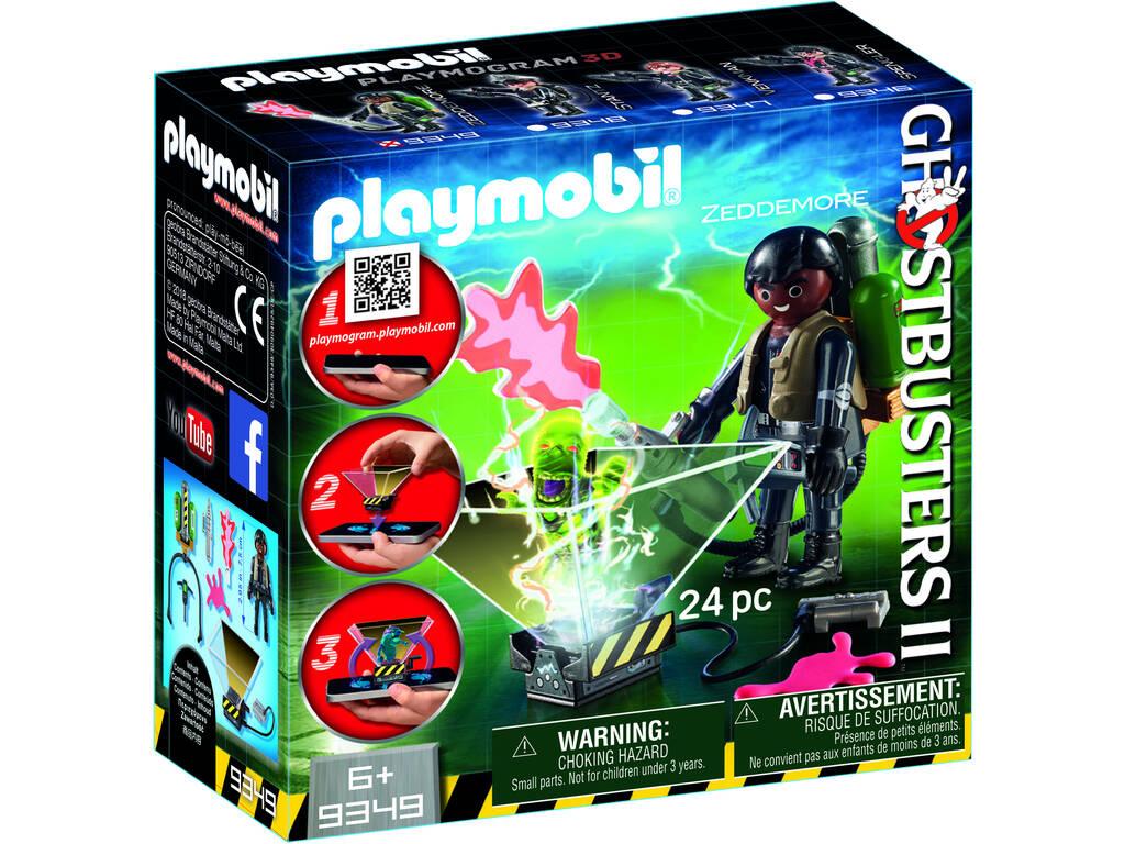 Playmobil Cazafantasmas Winston Zeddemore 9349