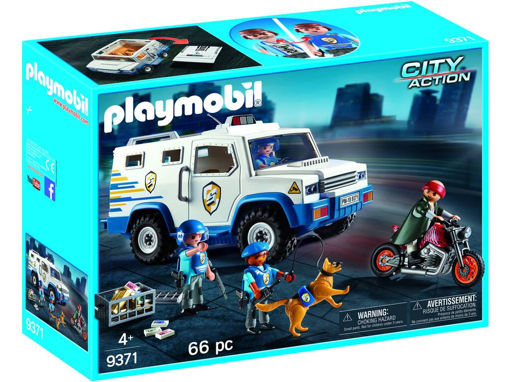Playmobil Vehículo Blindado 9371