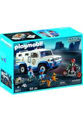 Playmobil City Action Furgone Portavalori 9371