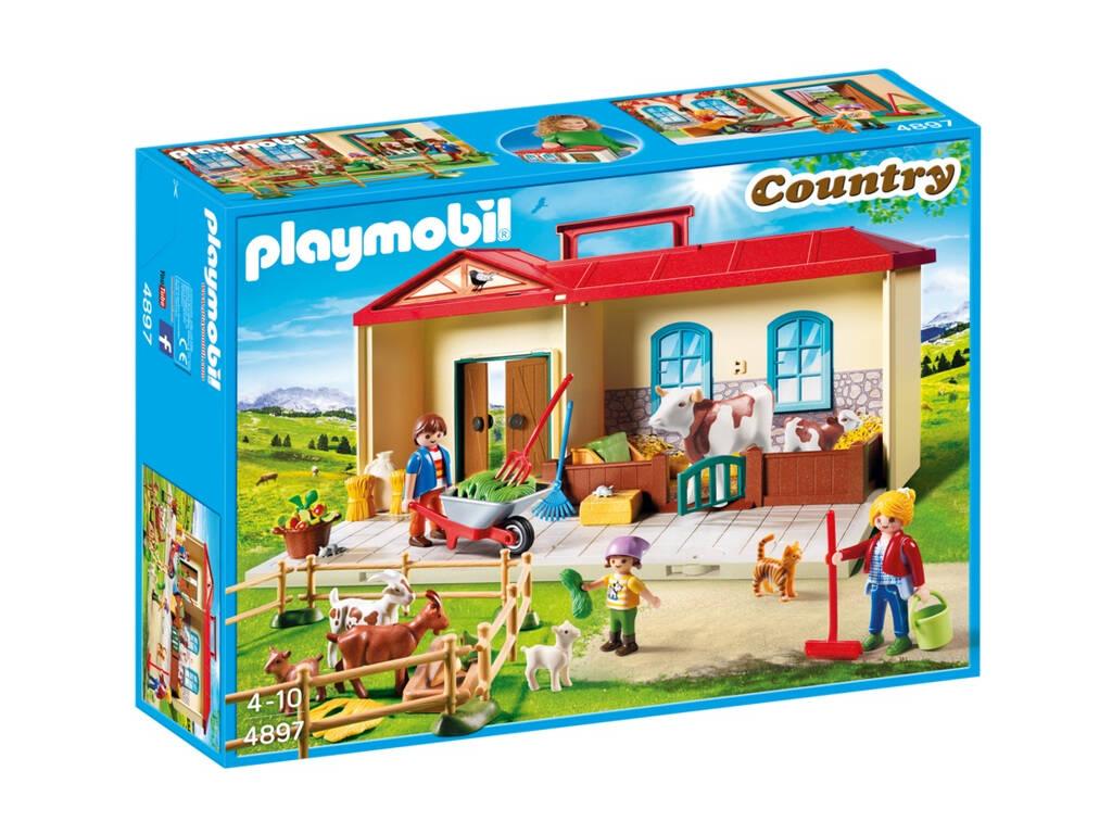 Playmobil Fattoria Portatile 4897