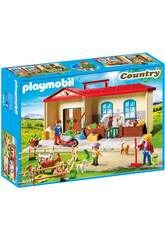 Playmobil Ferme Transportable 4897
