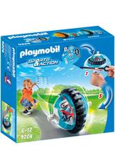 Playmobil Sports & Action Speed Roller blu con robot 9204