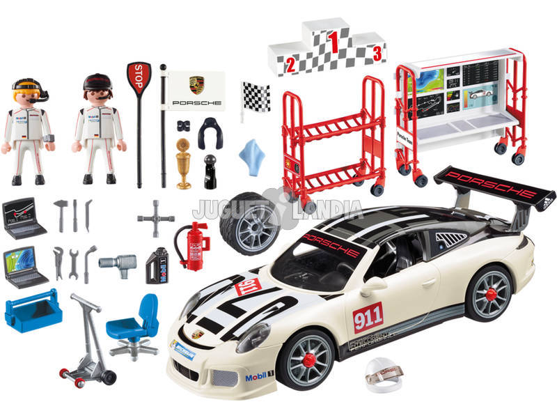 playmobil porsche 911 gt3 cup 9225 juguetilandia. Black Bedroom Furniture Sets. Home Design Ideas