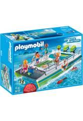 Playmobil Catamaran à Fond de Verre avec Moteur Submersible 9233