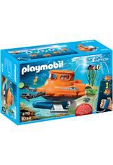 Playmobil Cloche de Plongée avec Moteur Submersible 9234