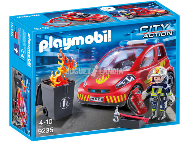 Playmobil Coche De Bomberos 9235